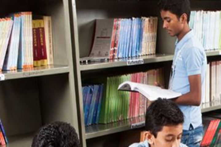 Career Point World School-Library