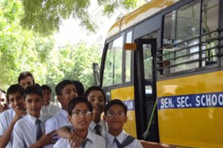 Career Point World School-Transport