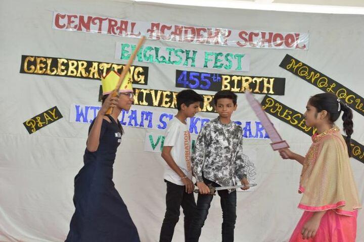 Central Academy School-English Fest