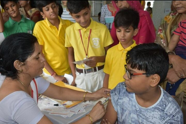 Central Academy School-Health and Medical Check Up