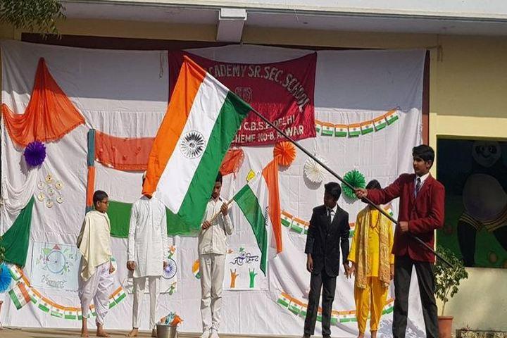 Central Academy Sr Sec School-Republic Day Celebrations