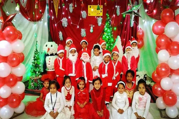 Central Public Senior Secondary School-Christmas Celebrations