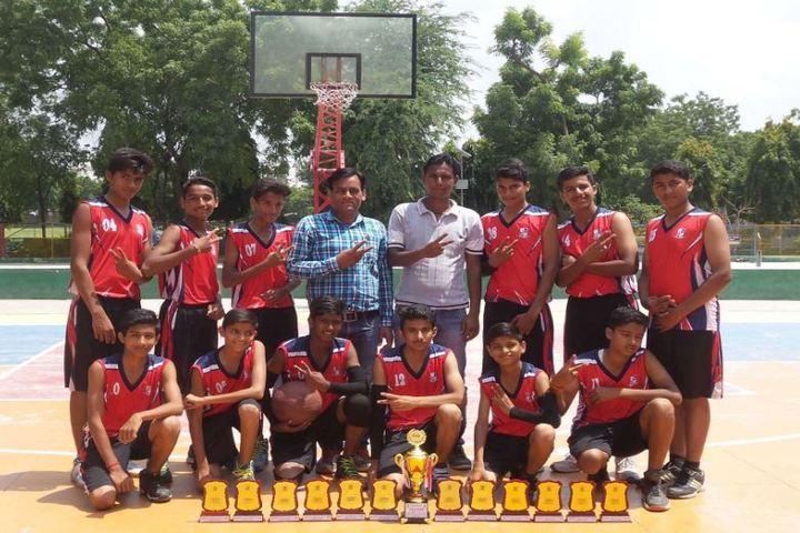 Central Public Senior Secondary School-District level Basket ball winner