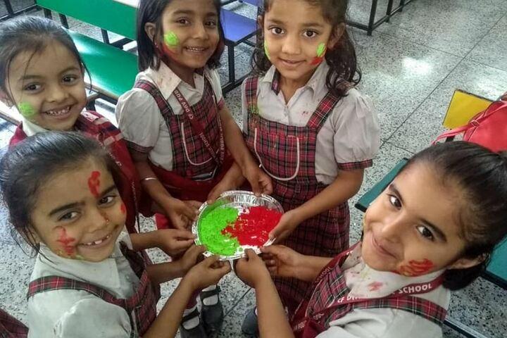 CFDAV Public School-Holi Celebrations