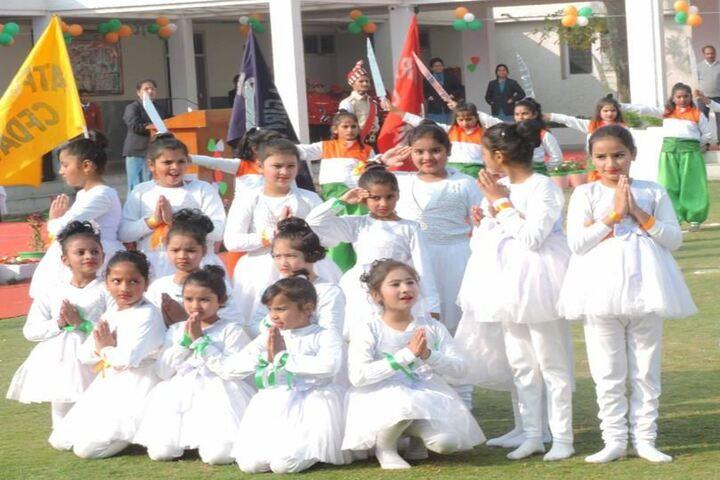 CFDAV Public School-Republic Day Celebrations