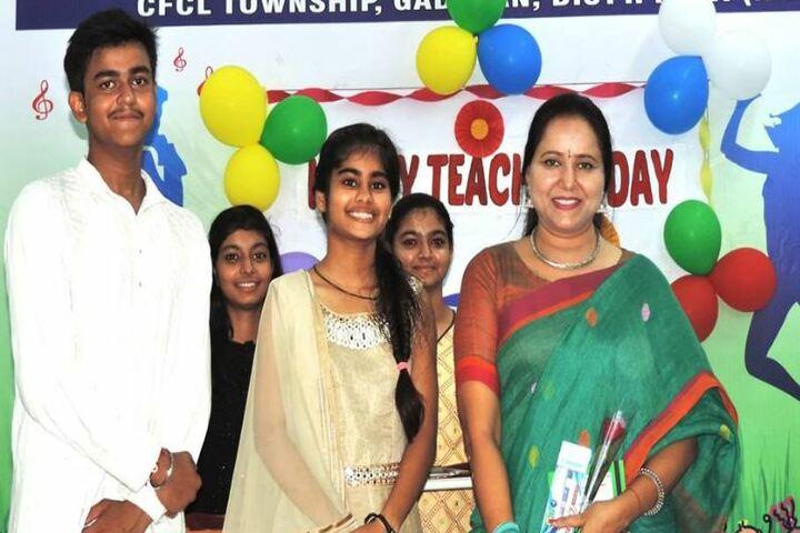 Chambal CFDAV Public School-Teachers Day Celebrations