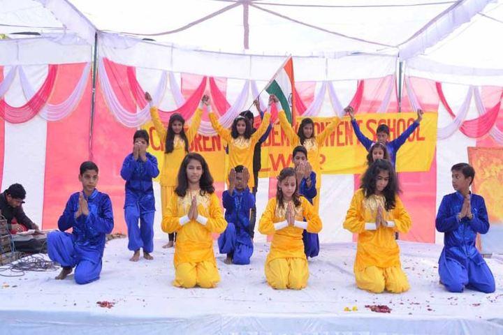Children Academy Convent School-National Dance