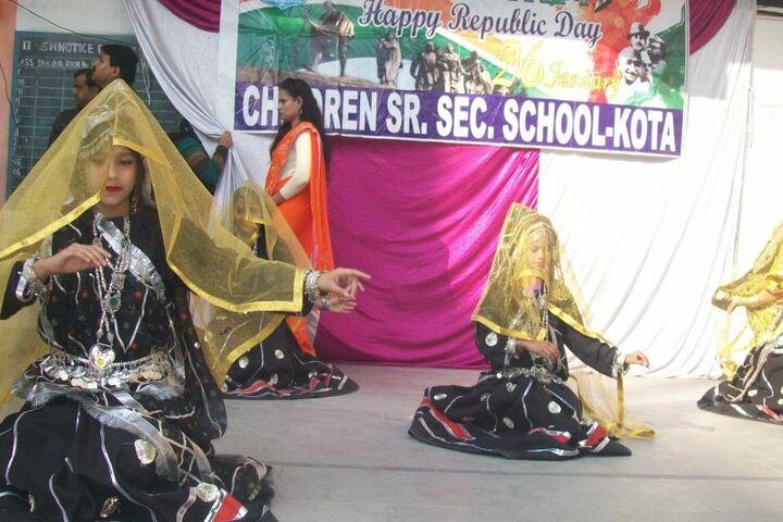 Children Senior Secondary School-Republic Day