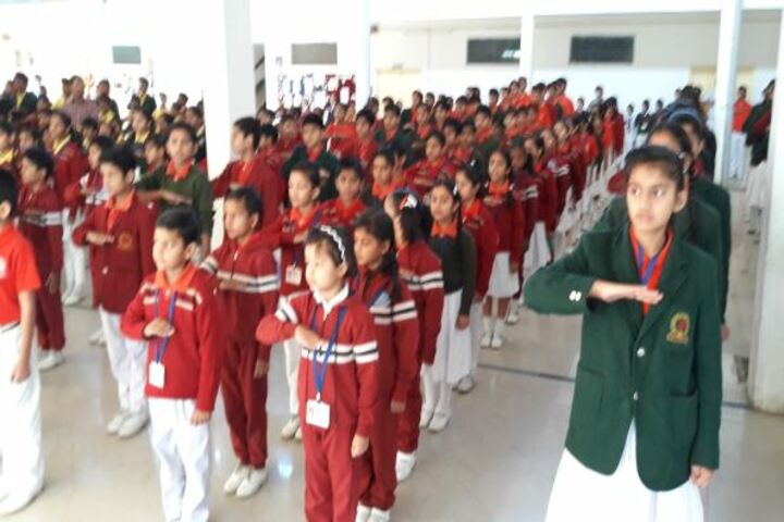 D.A.V. Hzl Senior Secondary School-Assembly
