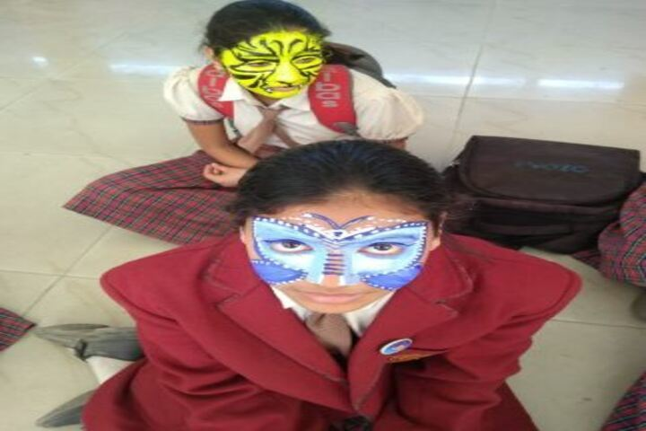 Daffodils World School-Face Painting