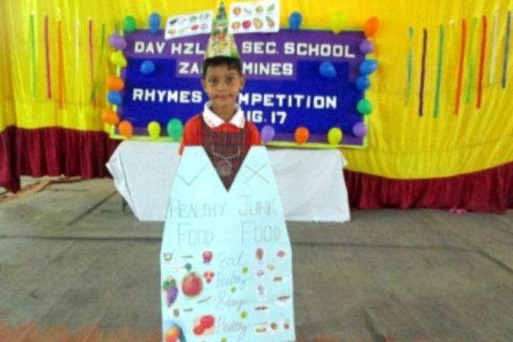 DAV Kalisindh Thermal Public School-Rhymes Competetion