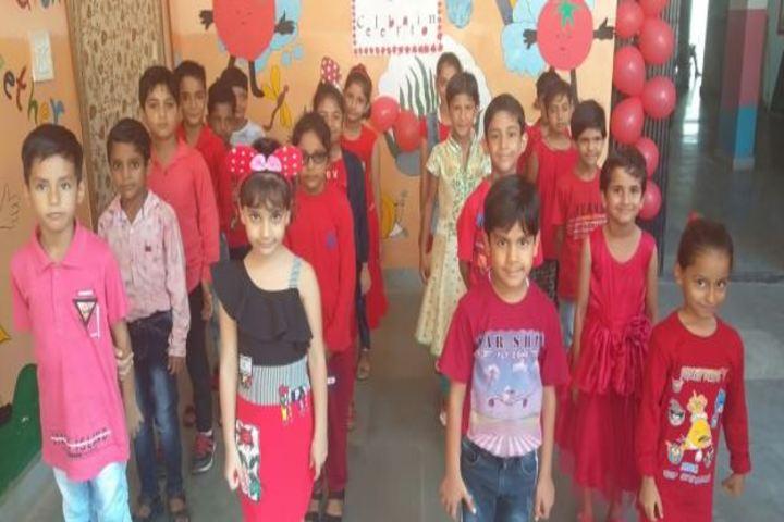 Dav Public School-Red Day Celebrations