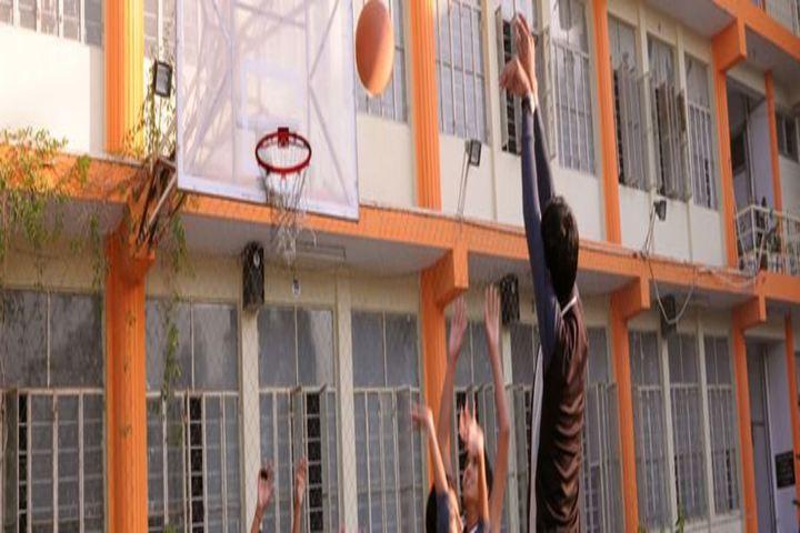 Defence Public School-Basket Ball