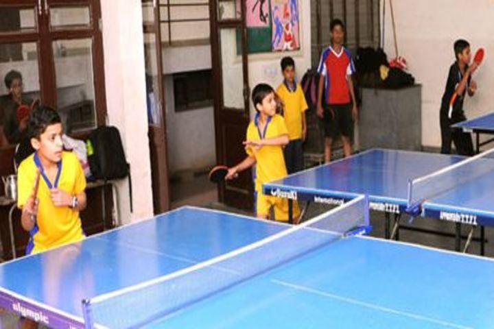 Defence Public School-Indoor Games