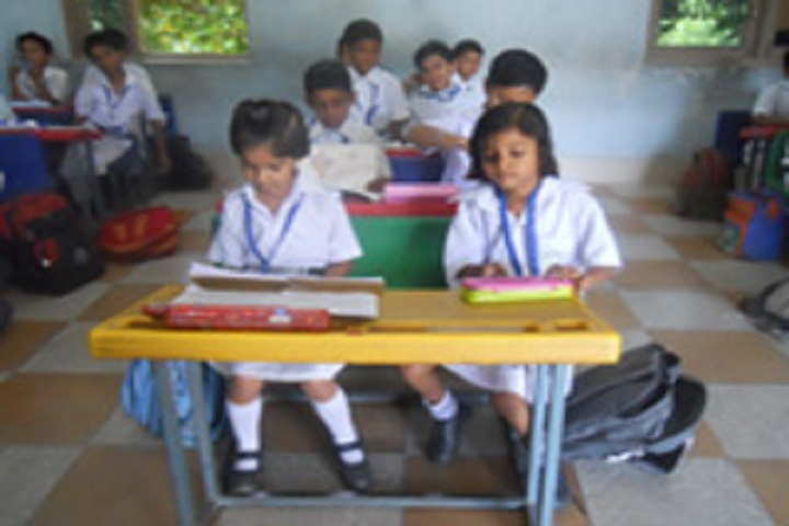 Delhi Public School-LKG Students Class Room