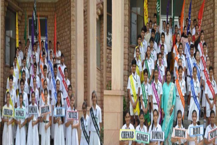 Delhi Public School-Houses