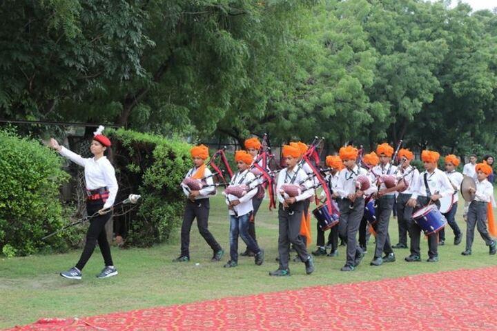 Delhi Public School-March-past