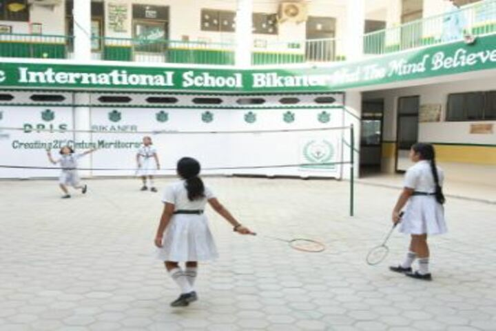 Delhi Public School Bikaner-Badminton
