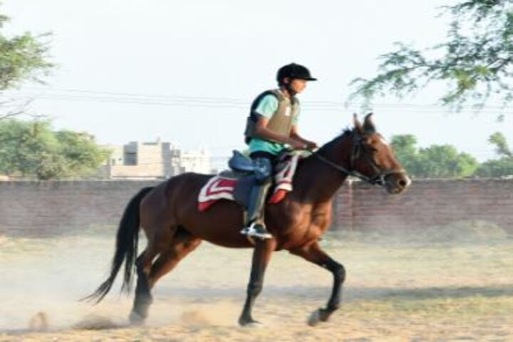 Delhi Public School Bikaner-Horse Riding
