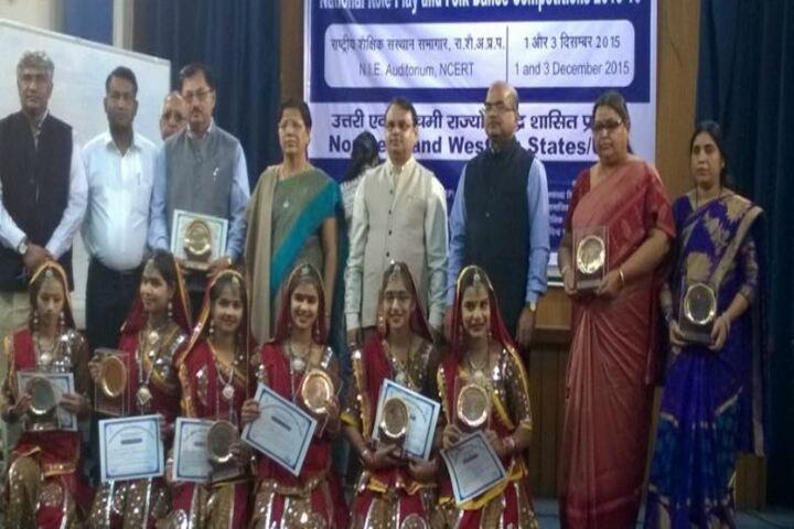 Demonstration Multipurpose School-Folk Dance Winners