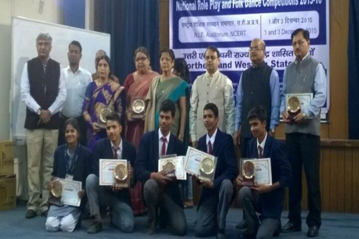 Demonstration Multipurpose School-Winners