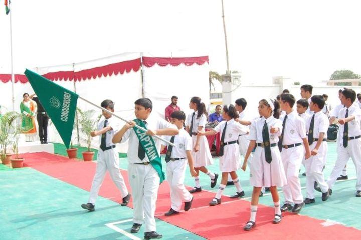 DPS Ajmer Senior Secondary School-March- Past