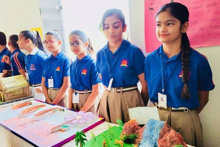 Dronacharya International School-Science Exhibition