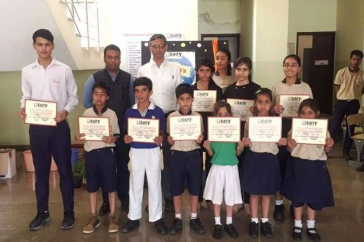 Edify World School-Certificate Distribution