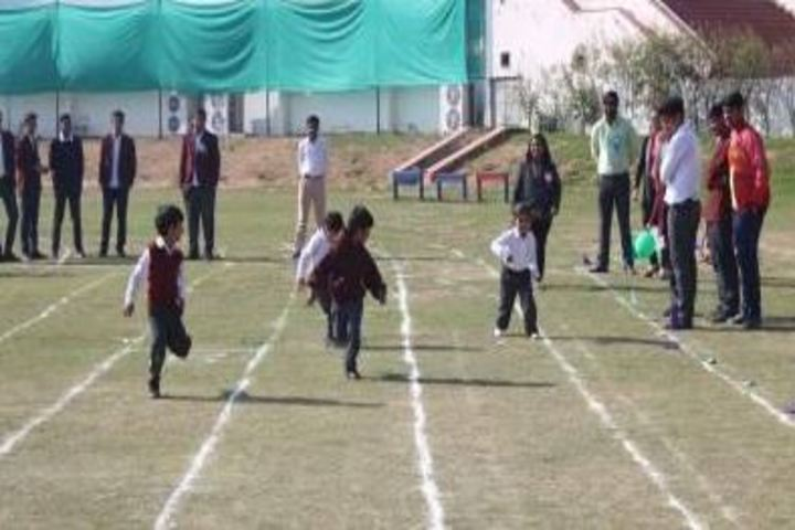 Edify World School-Junior Sports Day