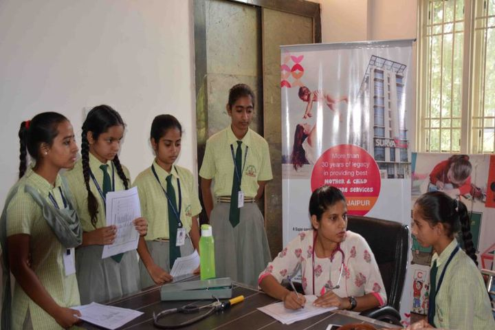 Eklavya International Academy-Medical Camp