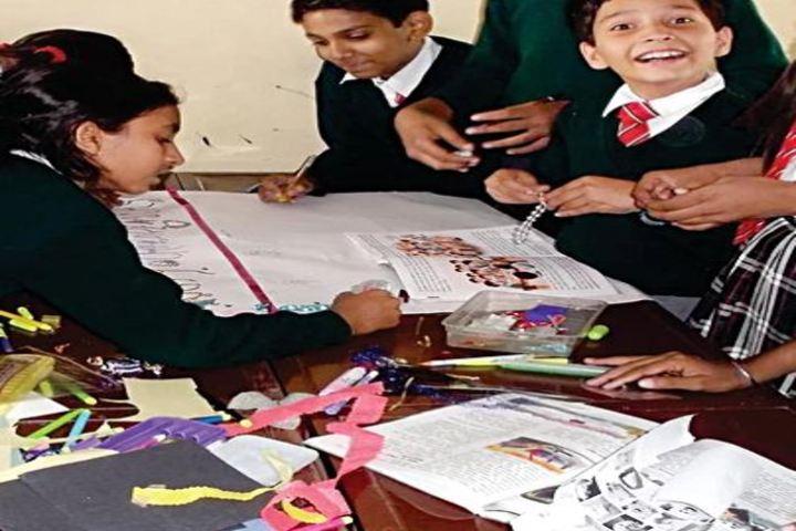 Emmanuel Mission School-Art and Craft