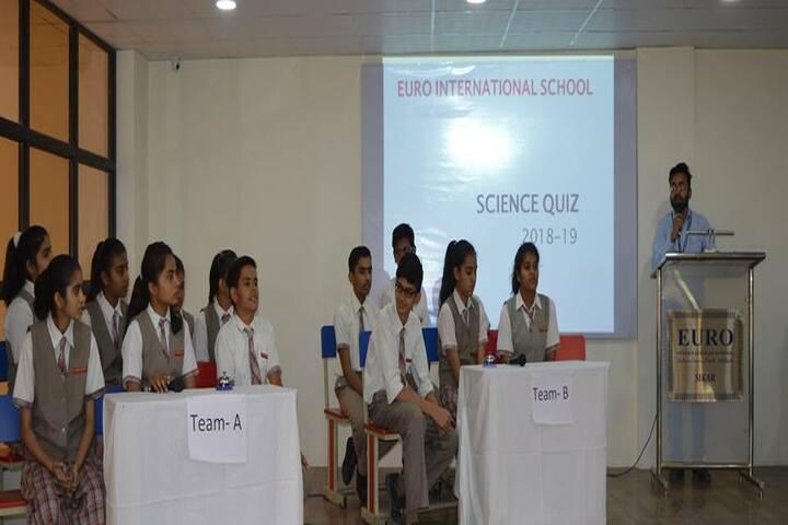 Euro International School-Quiz