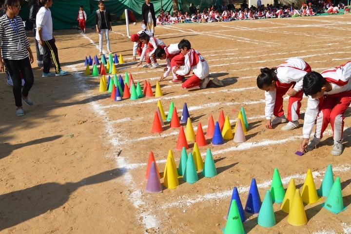 Euro International School-Sports day
