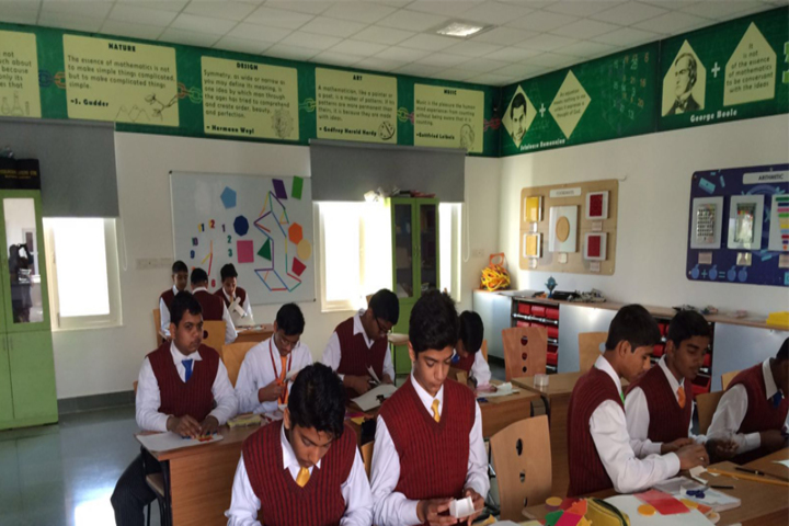 G D Goenka International School-Art and Craft Room