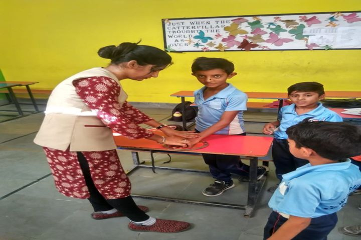 G S Jangid Memorial School-Art