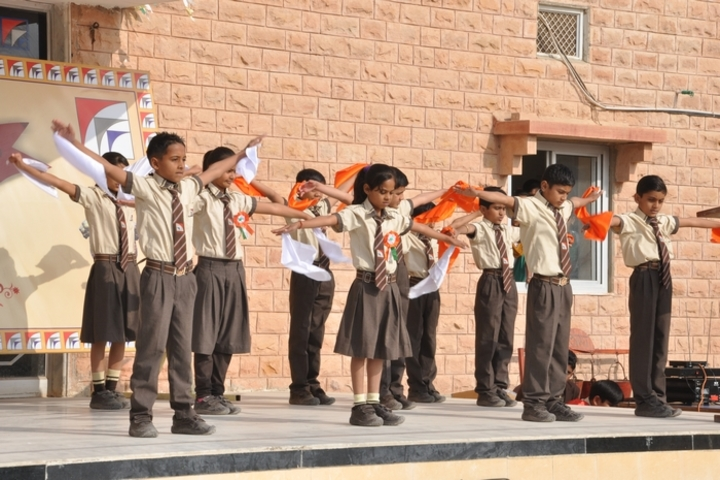 G S Jangid Memorial School-Independence day