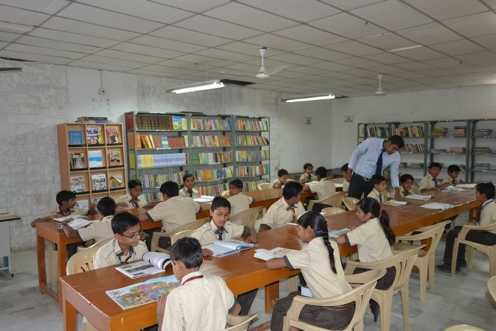 G S Jangid Memorial School-Library