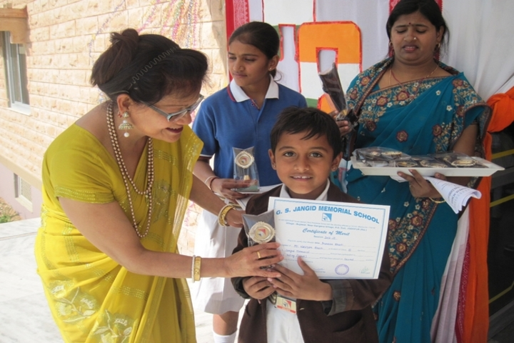 G S Jangid Memorial School-Prize Distribution