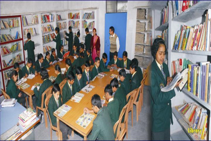 G B Modi Vidya Mandir-Library