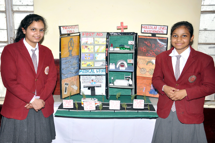 Ganganagar Public School-Science Exhibition