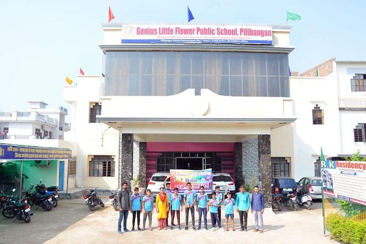 Genius Little Flower Public School-School Frontview