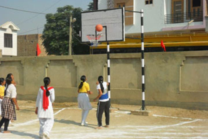 Genius Little Flower Public School-Basket ball
