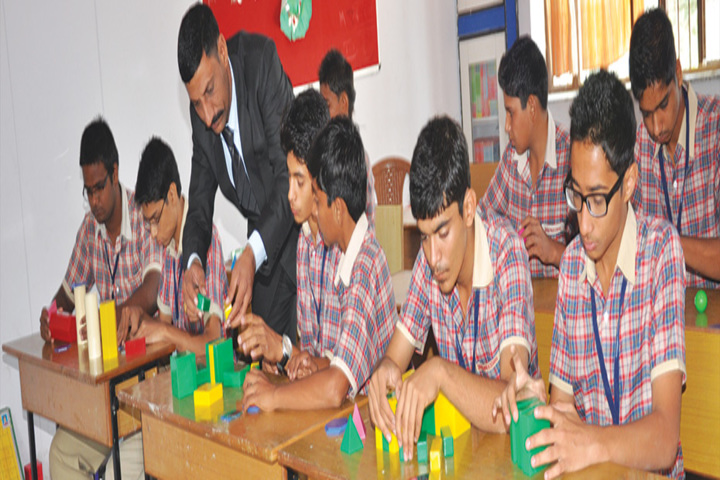 Goenka Public School-Maths lab