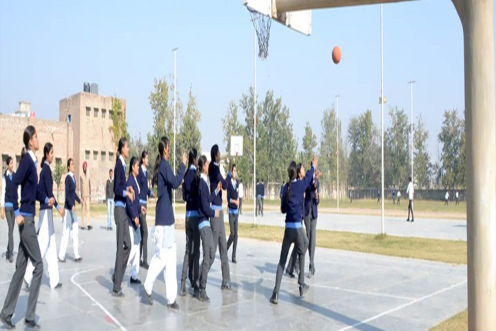 Guru Harkrishan Senior Secondary Public School-Basket ball