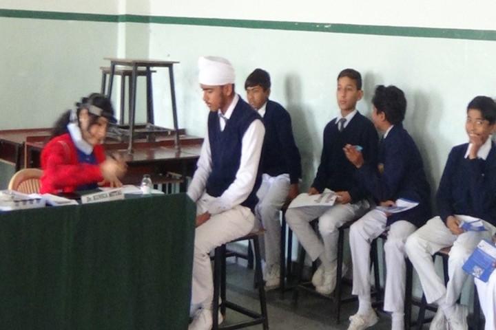 Guru Nanak Public School-Medical Checkup