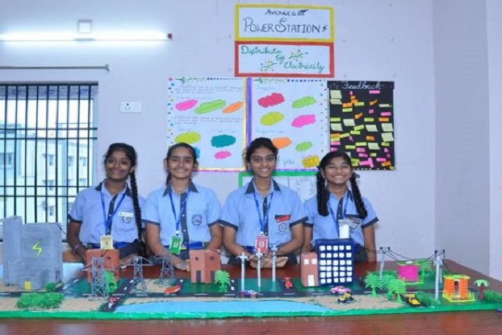 Avenues English Medium High School-Science Exhibition