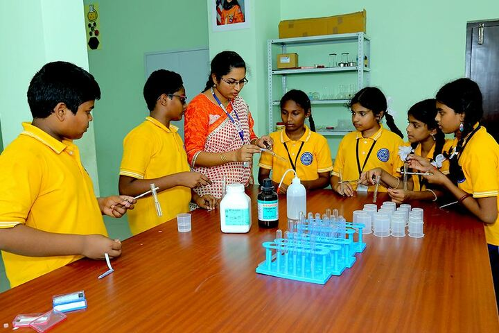 Avenues English Medium High School-Chemical Lab