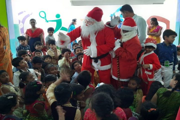 Avenues English Medium High School-Christmas Celebration