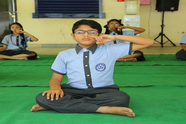 Avenues English Medium High School-Yoga