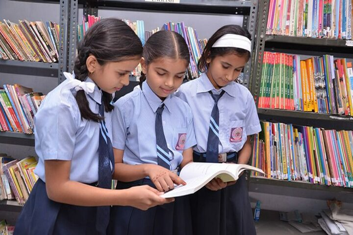 Gyanodaya Public School-Library
